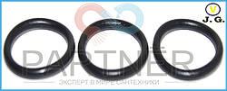 Упаковка резиновых прокладок на импортный гусак плоский (кольцо) (18х14х2) (100шт)