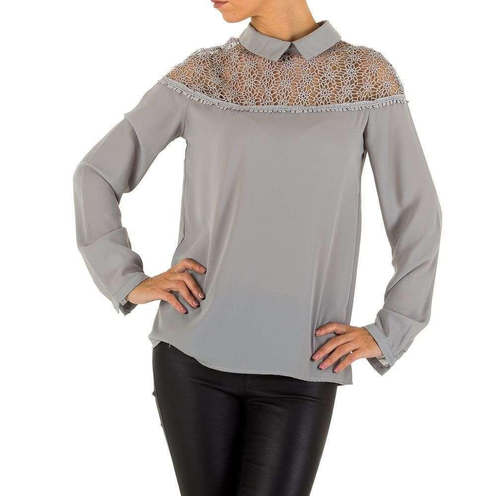 Женская блузка от Emmash - серый - KL-МУ-1002-серый