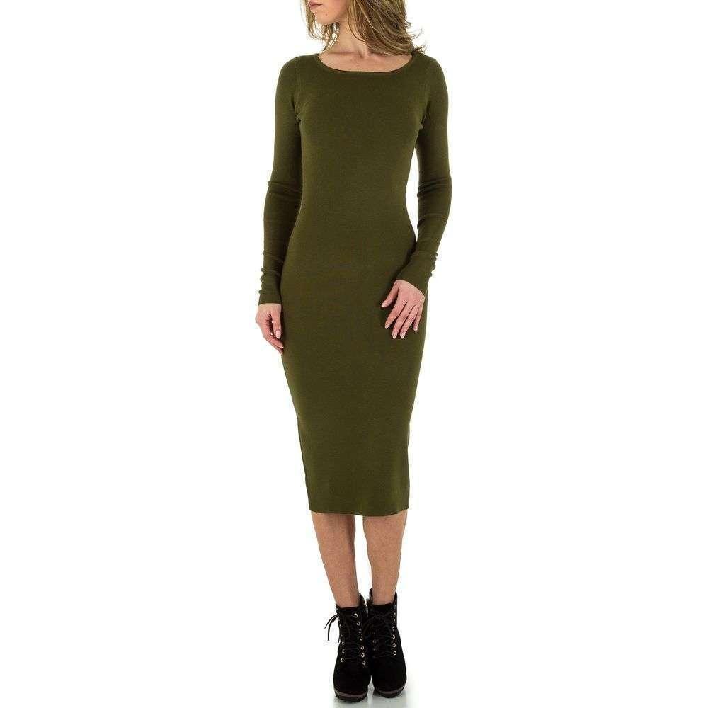 Женское платье от Voyelles, размер One Size - green - KL-C593-зеленый