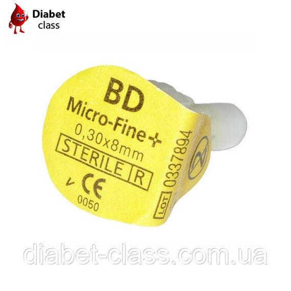 Иглы для шприц-ручек BD Micro Fine 8 mm 1 шт.