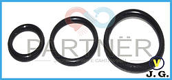 Упаковка резиновых прокладок на фитинг 16 (12х1.5) (кольцо) (100шт)