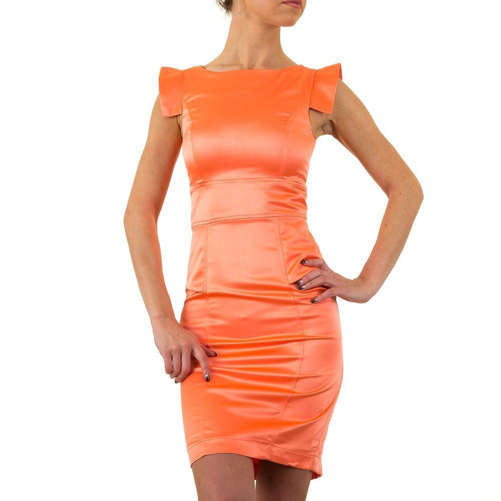 Женское платье от Usco, размер 36 - Корал - KL-120118-Корал 36