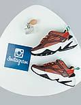 Женские кроссовки Nike M2K Tekno mahogany. Живое фото (Топ реплика ААА+), фото 2