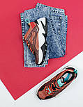 Женские кроссовки Nike M2K Tekno mahogany. Живое фото (Топ реплика ААА+), фото 6