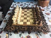 Шахматы-нарды-шашки 56 см на 56 см Королевские 9