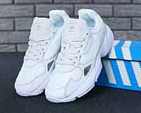 47729b68 Кроссовки Adidas Falcon White Beige — в Категории