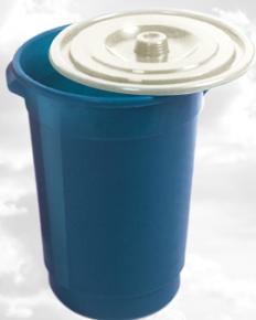 Відро харчове пластикове з кришкою, 25л, Од