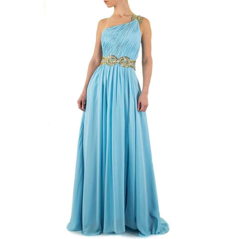 Женское платье от Festamo - синий - Мкл-Праздник-9-синий