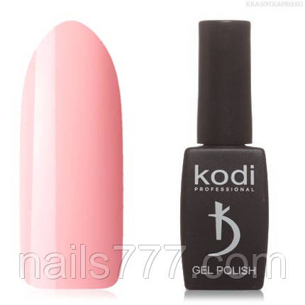 Гель лак Kodi  №60P,  розово-персиковый, фото 2