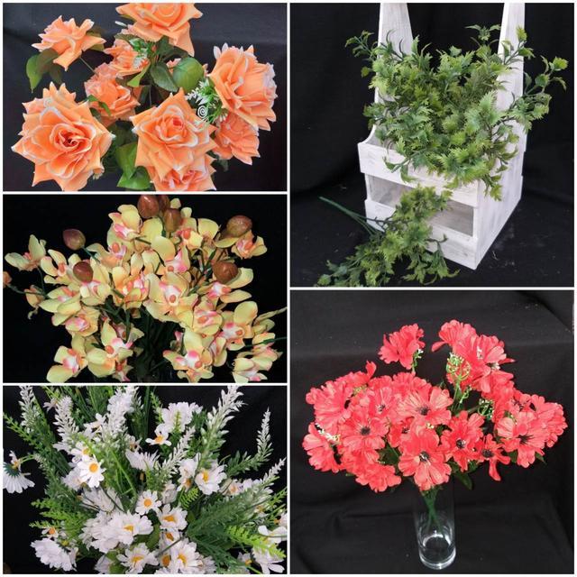 Распродажа искусственных цветов