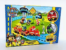Щенячий патруль набор игрушечная железная дорога