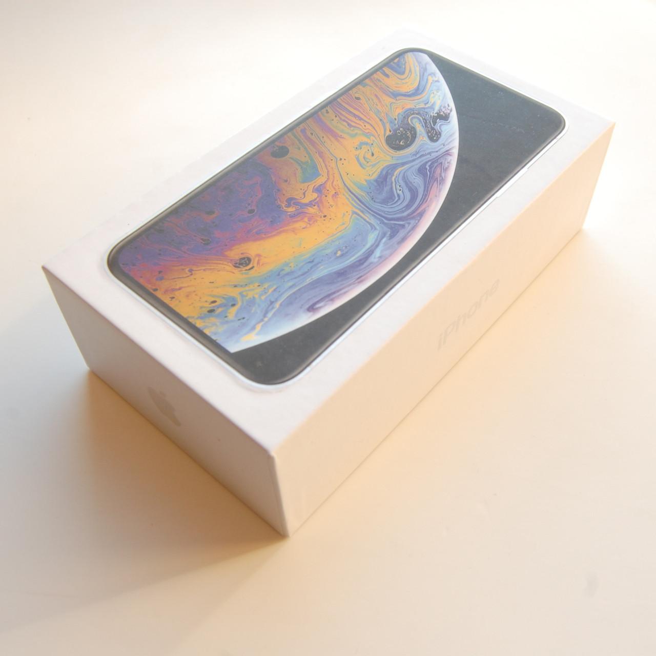 Коробка Apple iPhone XS Silver