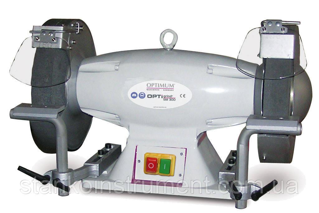 Точильно-шлифовальный станок Optimum Maschinen OPTIgrind GZ 30D (400 V)