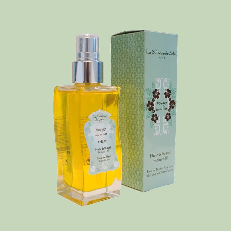 Масло Монои для тела, волос, массажа и ванны 100мл La Sultane de Saba BEAUTY OIL MONOI