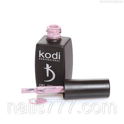 Гель лак Kodi  №60CN, цвета какао с молоком, фото 2
