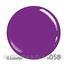 Гель-лак G.Lacolor  58