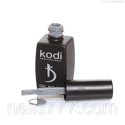 Гель лак Kodi  №60BW,теплый серый, фото 2