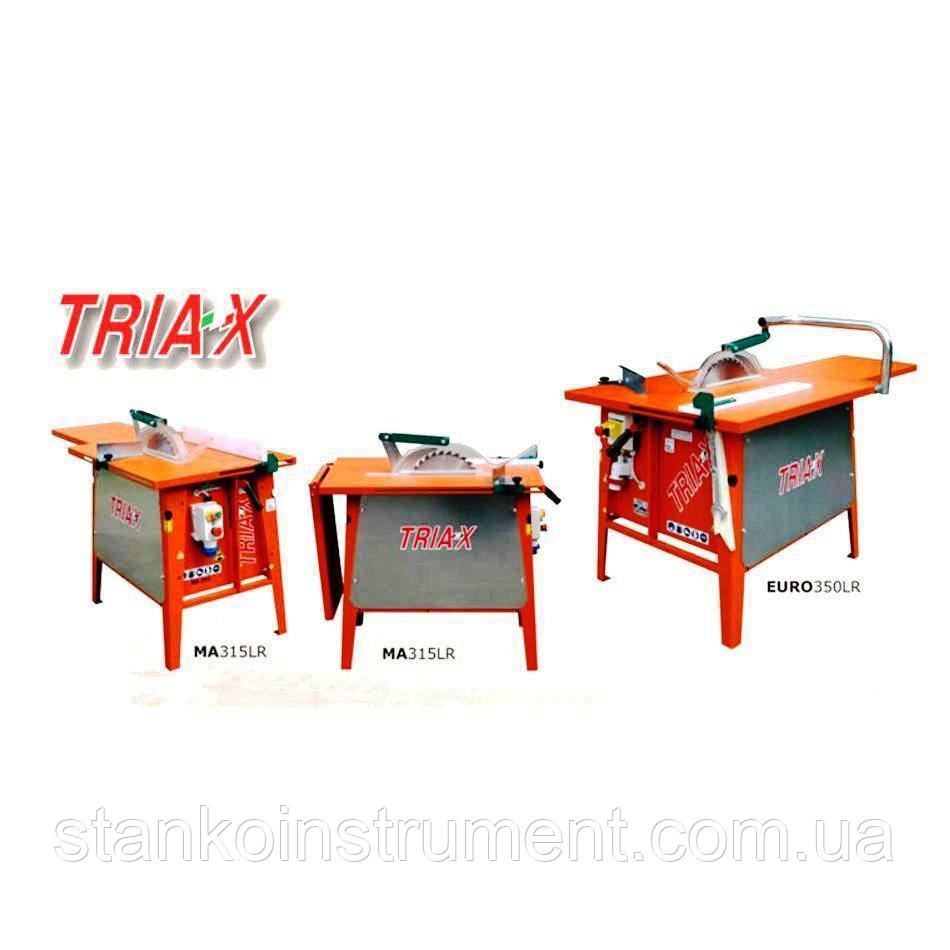 Циркулярная пила для резки древесины TRIAX EURO 350 LR (380 В)