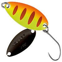 Блесна-колебалка  Nomura Isei Sue Spoon  2,3гр. Yellow Orange Red Stripes