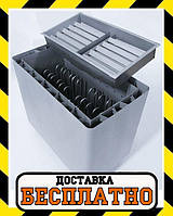 Электрокаменка Heatman Cube с электромеханическим блоком управления 4 кВт