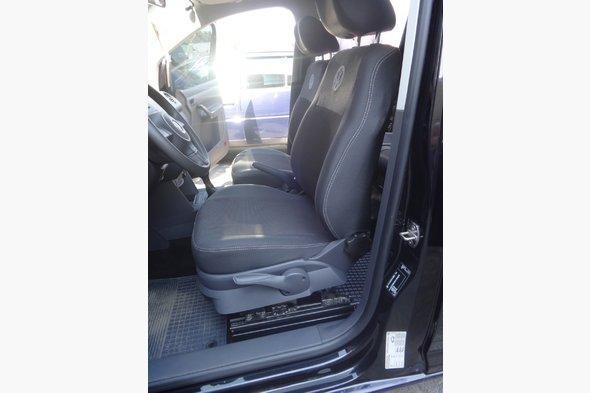 Авточехлы (тканевые, Classik) Volkswagen Caddy 2004-2010 гг. / Volkswagen Caddy 2010-2015 гг.