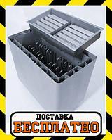 Электрокаменка Heatman Cube с электромеханическим блоком управления 15 кВт