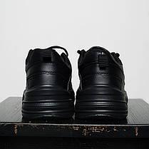 Кроссовки мужские весенние черного цвета Nike Tekno топ реплика, фото 2