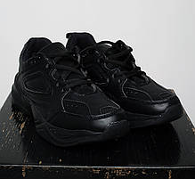 Кроссовки мужские весенние черного цвета Nike Tekno топ реплика, фото 3