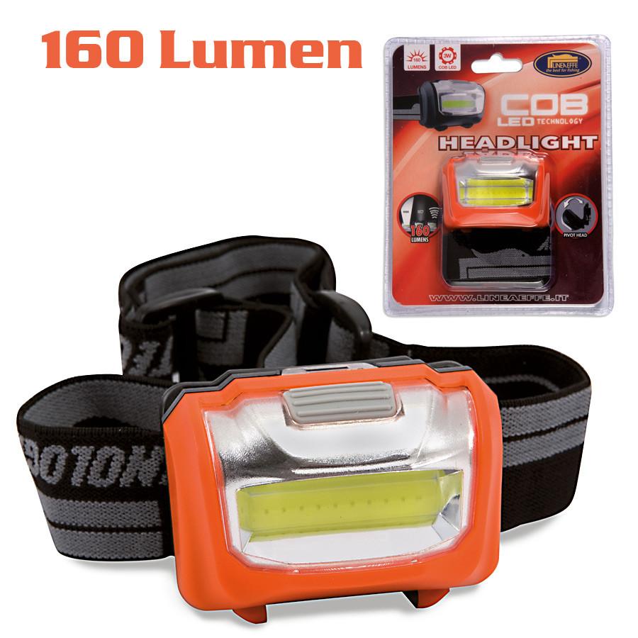 Фонарик налобный Lineaeffe LED 160 люмен