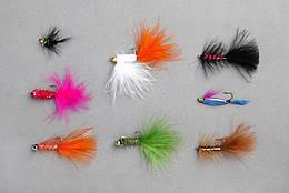 Мухи Balzer Rainbow Trout в наборі 8шт.