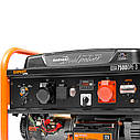 Бензиновый генератор Daewoo GDA-7500DPЕ-3 (6.5 кВт, электростартер, 3-х фазный), фото 9