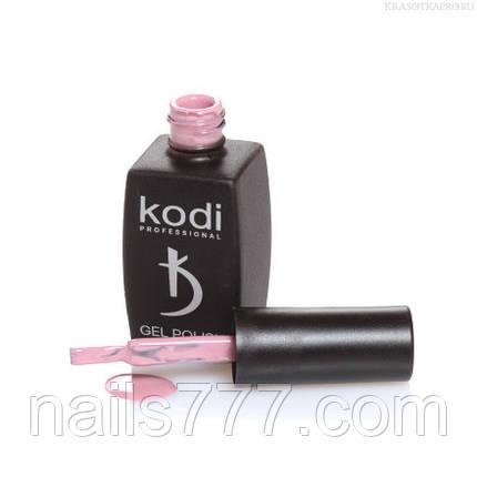Гель лак Kodi  №70CN, приглушенный бежево-розовый, фото 2