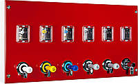 Модуль подачи газа с вентилями