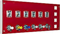 Модуль подачи газа с вентилями и электричеством