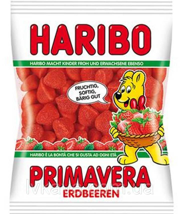 Желейные конфеты Haribo Primavera Erdbeeren , 200 гр