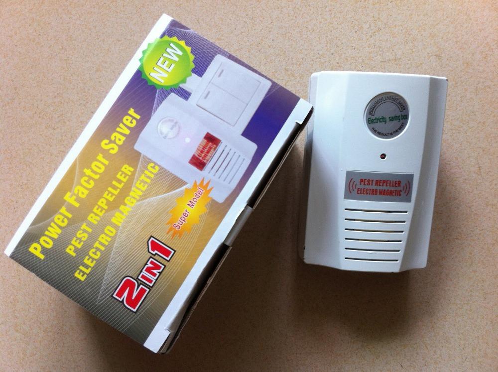 Энергосберегатель стабилизатор + отпугиватель грызунов и насекомых. 2 в 1