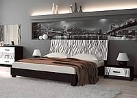 Спальня Терра (белый глянец/чёрный мат) (с доставкой)