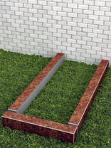 Квітник гранітний для пам'ятника 5х10см, фото 3