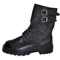 Ботинки ОМОН юфть/кирза утепленные(зима)