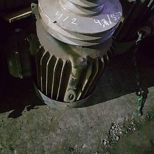Электродвигатель двухскоростной 4.7/5.5 кВт 1500/3000об/мин ао лаповый, фото 2