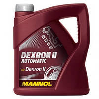 Трансмиссионное масло Mannol Dexron II Automatic 4L