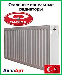 Стальной радиатор Sanica 22k 500*500 б.п.