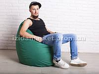 Кресло мешок груша НОРМАЛ зеленого цвета