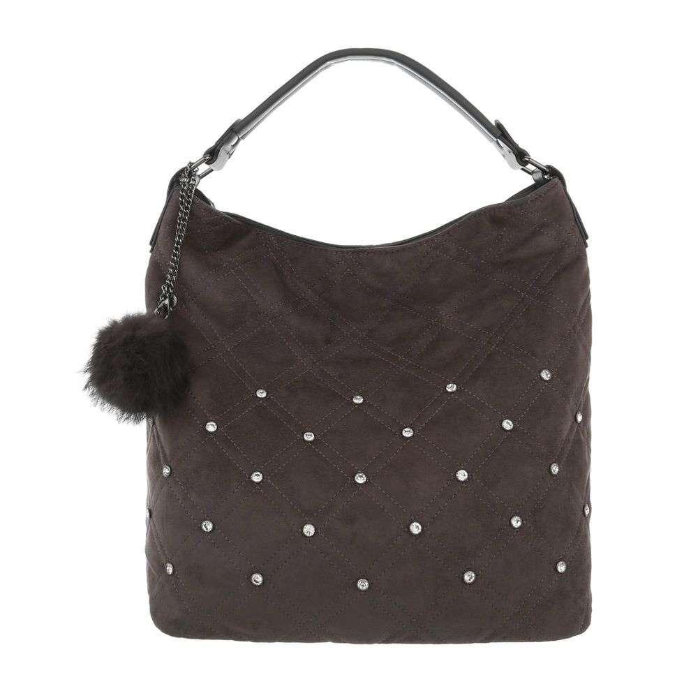 Женская сумка-серый - ТА-7035-7-grey