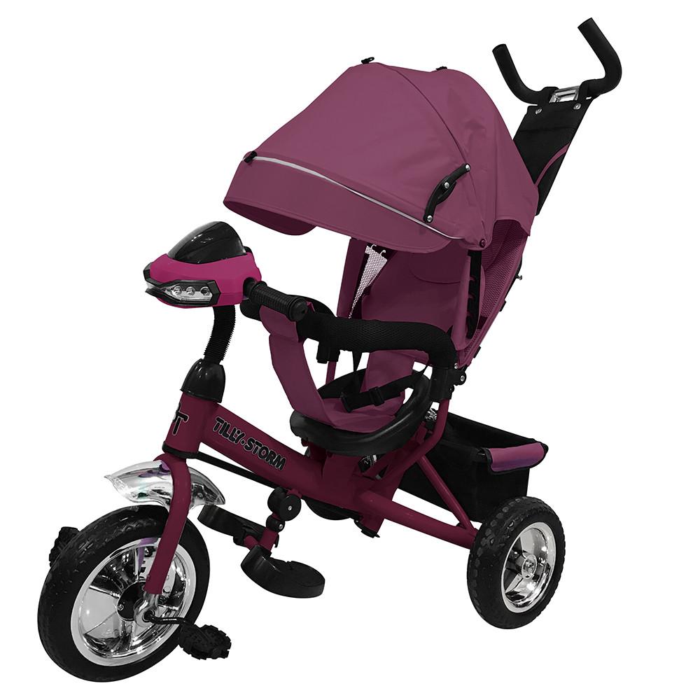 Велосипед трехколесный TILLY STORM T-349 Фиолетовый