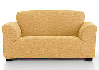 Чехол натяжной на 4-х местный диван Андреа Голд, фото 1