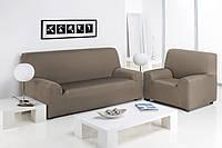 Чехол натяжной на 3-х местный диван Сандра Лен, фото 1