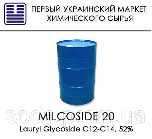 Milcoside 200, аналог Glucopon 625 UP (Lauryl Glycoside C12-C14, 52%)