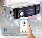 "В машину автомагнитола Pioneer 4514 с функциями Bluetooth - 4,1"" TFT USB+SD 1 дин стильная, фото 2"