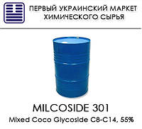 Milcoside 301, аналог Glucopon 650 ЕС (Mixed Coco Glycoside C8-C14, 55%)